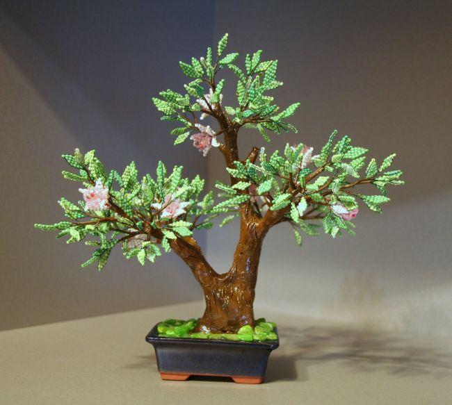 """Учебная программа  """"Создание декоративных деревьев из полудрагоценных камней и бисера """" ."""
