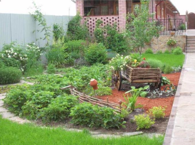 декоративный огород своими руками