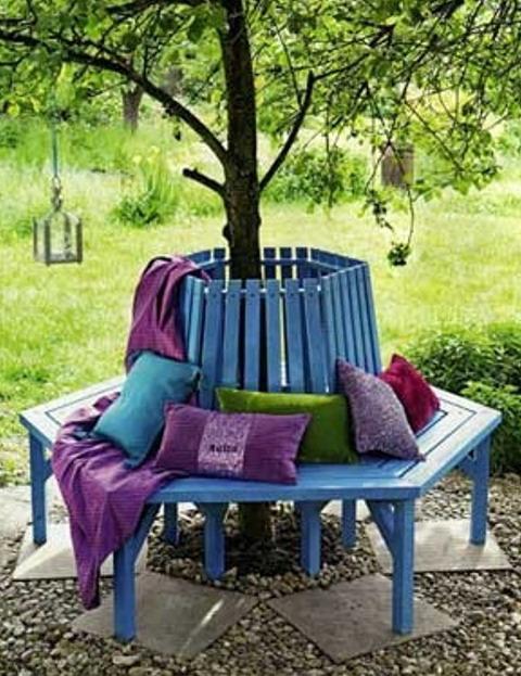 Деревянные скамейки для дачи