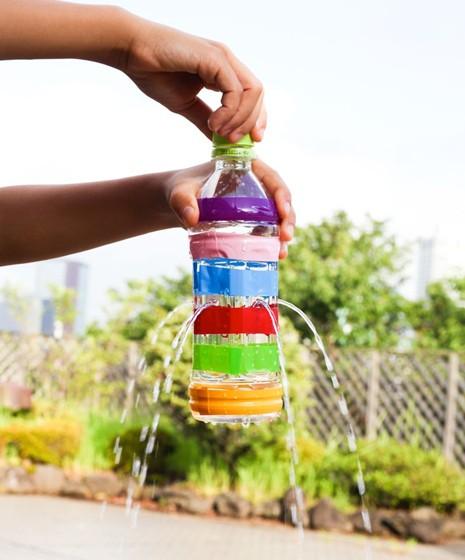 Ппластиковые бутылки поделки для сада