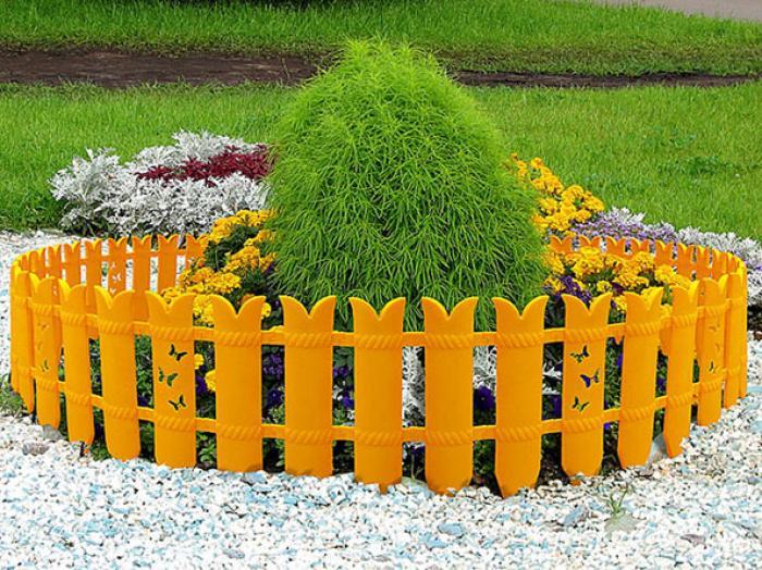 Садовые ограждения из пластика