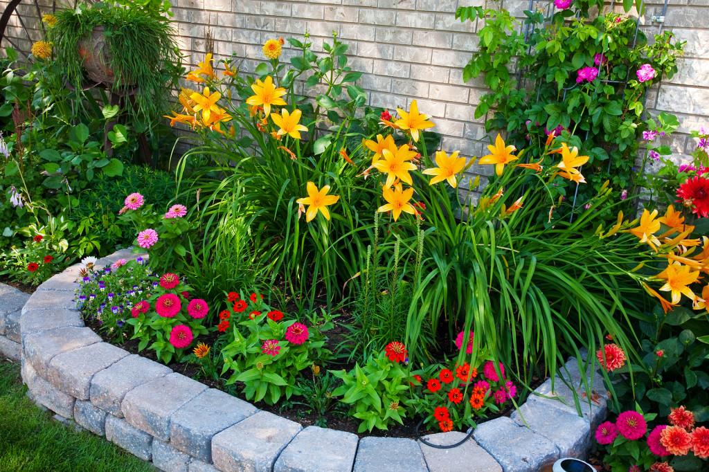 Декоративные ограждения для сада