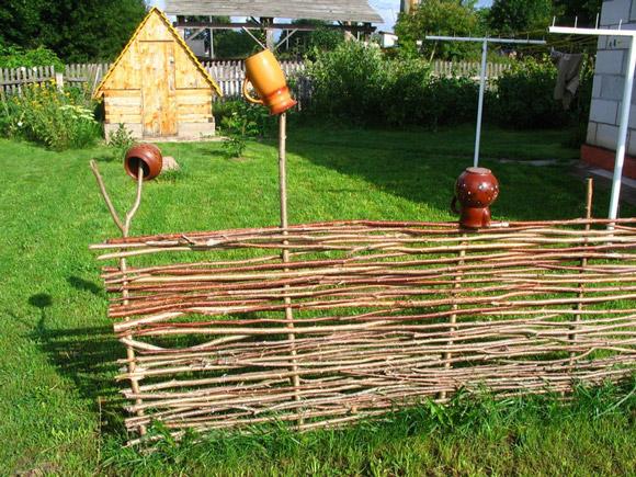Декоративные заборы для дачи
