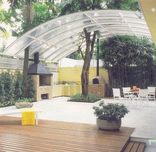 Дизайн зоны отдыха на даче