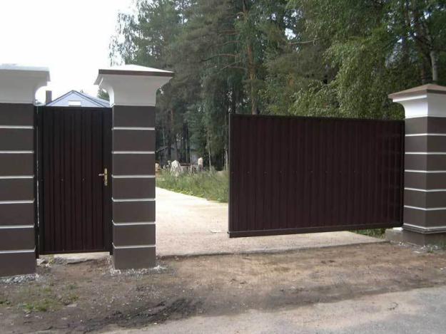 Ворота для дачи откатные