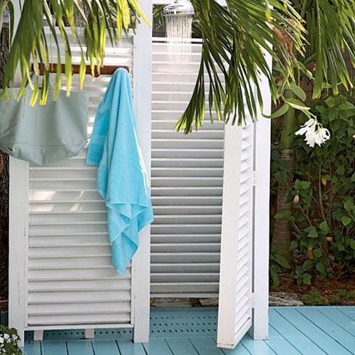 летний душ для дачи фото