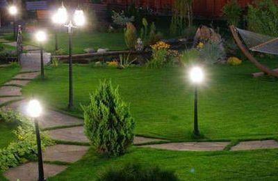 Самостоятельный ландшафтный дизайн участка и садовые светильники