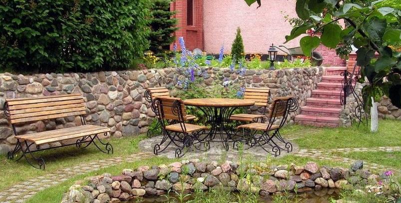 Сад на приусадебном участке
