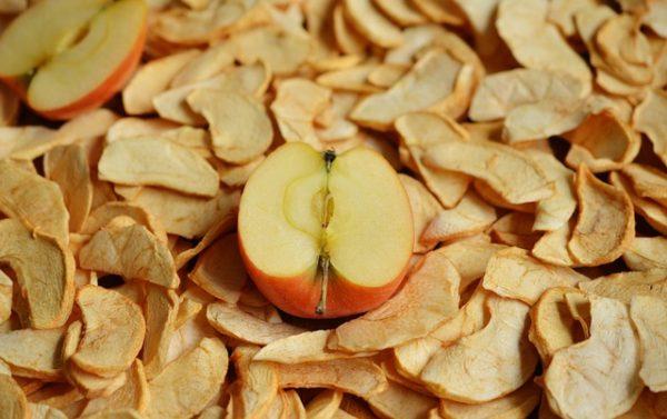 яблоки сушеные