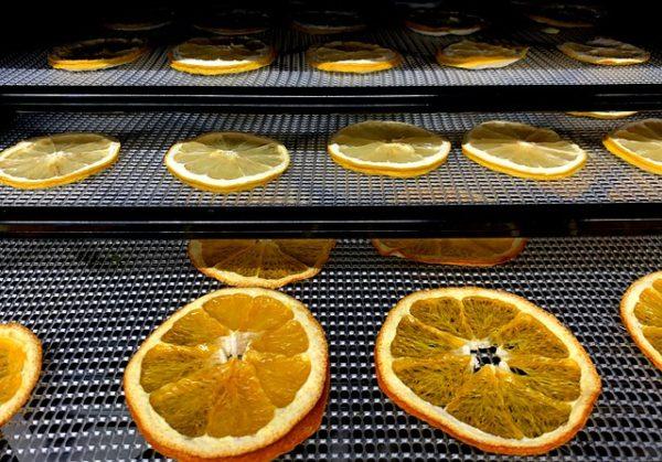 лимоны сушаться